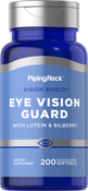 Lutein Bilberry Eye Vision Guard with Zeaxanthin 200 Softgels