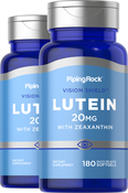 Lutein 20 mg with Zeaxanthin 2 Bottles x 180 Softgels