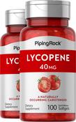 Lycopene 40 mg  2 Bottles x 100 Softgels