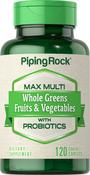 Max Whole Greens ‒ Whole Foods Multi ohne Eisen 120 Überzogene Filmtabletten