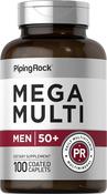 Multiple Méga pour homme 50 Plus 100 Petits comprimés enrobés