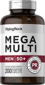 Multiple Méga pour homme 50 Plus 200 Petits comprimés enrobés