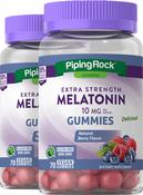 Melatonin-Gummibärchen (natürliche Beere) 70 Vegan Gummies