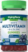 Multivitamine für Männer + B-12 D3 & Gummibärchen mit Zink (natürliches Beerenaroma) 70 Vegetarian Gummies