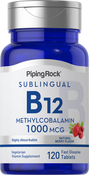 B-12 Methylcobalamin 1000mcg Sublingual 120 Fast Dissolve Tablets