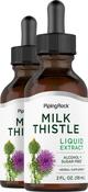Milk Thistle Seed Liquid Extract 2 Dropper Bottles x 2 fl oz (59 mL)