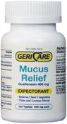 Extracteur de mucus, guaïfénésine expectorante 400 mg 100 Comprimés