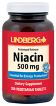 Niacin (Prolonged Release) 500 mg, 250 Veg Tabs