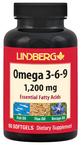 Omega 3-6-9 Fisch, Leinsamen u. Borretsch 90 Weichkapseln