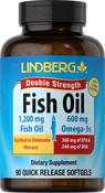Huile de poisson riche en oméga-3 Double concentration 90 Capsules