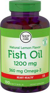 Omega-3 Fish Oil Lemon Flavor
