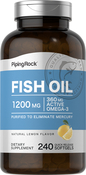 Omega-3 Fish Oil 1200mg 240 Softgels