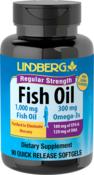 Huile de poisson riche en oméga-3 Concentration normale (arôme citron) 90 Capsules molles à libération rapide