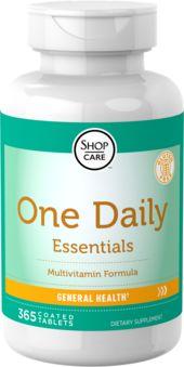 Multi-vitamines essentielles One Daily 365 Comprimé enrobé