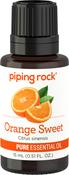 Aceite esencial de naranja dulce, puro 1/2 fl oz (15 mL) Frasco con dosificador
