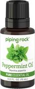 Óleo essencial puro de hortelã-pimenta 1/2 fl oz (15 mL) Frasco conta-gotas