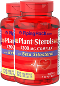 Plant Sterols 1200mg 2 Bottles x 120 Capsules