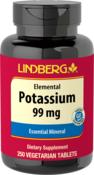Potassium Gluconate, 99 mg, 250 Tabs