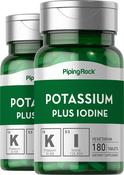 Potassium Plus Iodine  2 Bottles x 180  Tablets