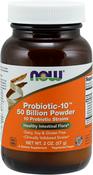 Polvo probiótico-10, 50000 millones 2 oz Botella/Frasco