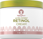 Retinol-creme (Ultra-potent Vitamin A-creme) 4 oz (113 g) Glas