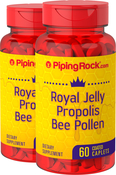 Royal Jelly, Propolis & Bee Pollen 2 Bottles x 60 Coated Caplets