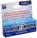 Scar Zone Advanced Cream (Scars, Burns, Stretch Marks), 0.75 oz (21g) Tube
