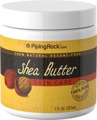 Beurre de Karité pour le corps (pur) 7 fl oz (207 mL) Bocal