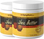 Manteiga de carité para o corpo (pura) 7 fl oz (207 mL) Boião