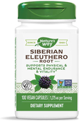 Siberian Eleuthero Root, 1,275 mg (per serving), 100 Capsules