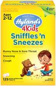 Sniffles N Sneezes 4 Kids 125 Tablets