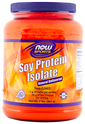 Soy Protein Isolate Powder Unflavored 2 lbs (907 g) Bottle