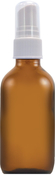 Sprayfles 2 dl glas amber 2 fl oz (59 mL) Glass Amber, Sprayfles