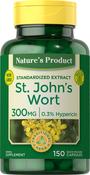 St. John's Wort 0.3% Hypericin (Standardized Extract) 150 Gélules à libération rapide
