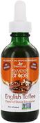 Stevia Liquid (English Toffee), 2 fl oz (60 mL) Dropper Bottle