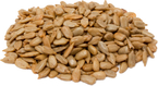 Hulled Roasted Unsalted Sunflower Seeds 1 lb (454 g) Bag