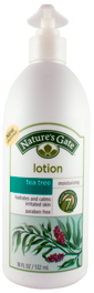Loção de hidratante de árvore do chá 18 fl oz (532 mL) Frasco doseador