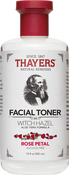 Witch Hazel Facial Toner with Aloe Vera (Rose Petal), 12 fl oz