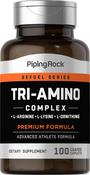 Tri Amino L-arginiini L-ornitiini L-lysiini 100 Päällystetyt kapselit