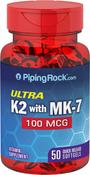 Vitamine K-2 Ultra  MK-7 50 Capsules molles à libération rapide
