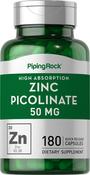 Zink-Picolinat (hoch absorbierbares Zink) 180 Kapseln mit schneller Freisetzung