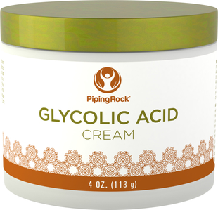 Crème à 10% d'acide glycolique 4 oz (113 g) Bocal