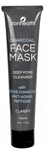 Masque Adama au charbon de bois, nettoie les pores en profondeur 4 oz (113 g) Tube
