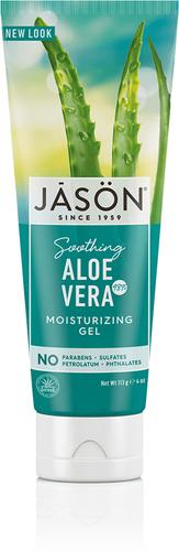 Aloe Vera 98 % lindrende fuktighetskrem 4 oz (113 g) Rør