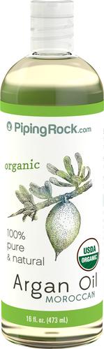 Czysty złoty marokański olejek arganowy w płynie (ekologiczny) 16 fl oz (473 mL) Butelka