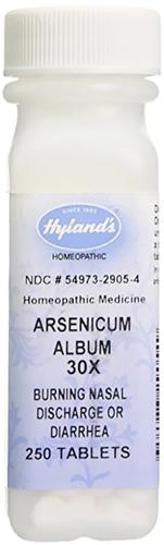 Arsenicum Album 30x Homeopatyczne biegunka 250 Tabletki