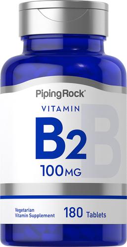 Riboflavin B-2 100 mg 180 Tablets