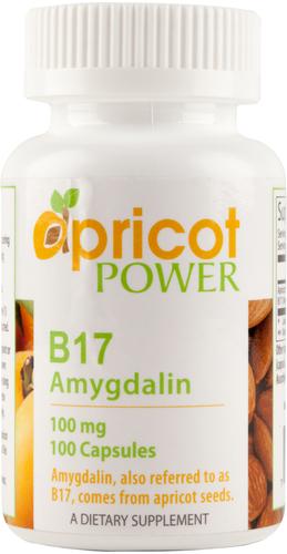 B17 100mg  Amygdalin 100 Capsules