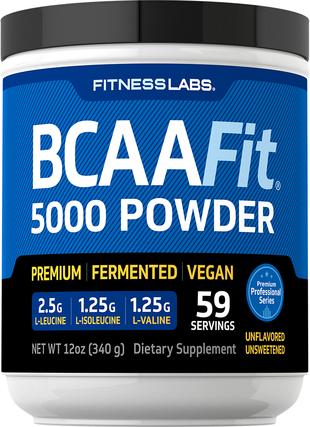 BCAAFit 5000 proszek 12 oz (340 g) Butelka