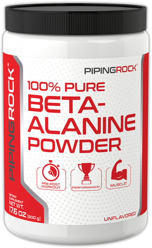 Beta-Alanina en polvo 17.6 oz (500 g) Botella/Frasco